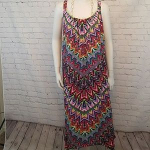 NY Collection Bright Summer / Spring Maxi L